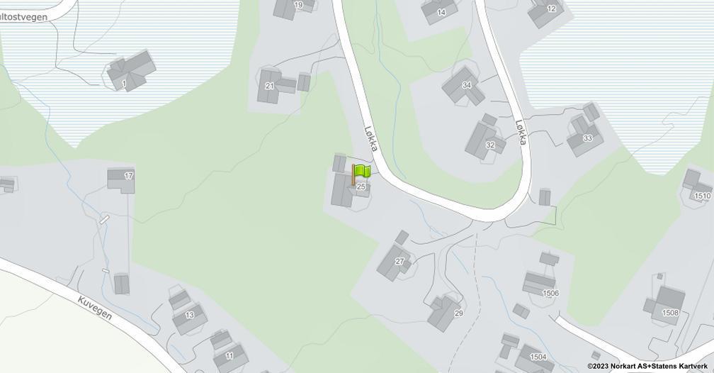 Kart sentrert på geolokasjonen 60.9521333425511 breddegrad, 11.2910814249155 lengdegrad